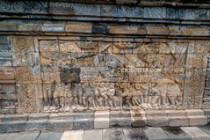 Borobodur Temple Complex-Yogyakarta, Java, Indonesia