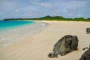 Mahabang Buhang Beach on Calaguas Island, in Vinzons, Camarines Norte, Philippines
