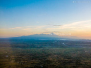 Aerial view - Mount Rinjani, from Lombok-Bali Flight, West Nusa Tenggara, Indonesia