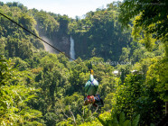 7 Falls Zipline, in Lake Sebu, South Cotabato, Philippines