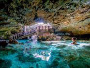 Ogtong Cave, in Sante Fe, Bantayan Island, Cebu, Philippines