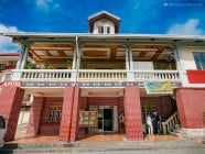 Provincial Capitol, in Bontoc, Mountain Province, Philippines