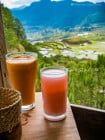 Gaia Cafe and Crafts, in Sagada, Mountain Province, Philippines