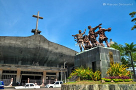 Davao Cathedral in Davao City, Philippines