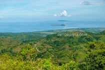 Trail to Mount Madia-as Summit in Culasi, Antique, Philippines