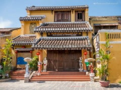 Traditional Arts Performance House in Hoi An Ancient Town, Quang Nam Province, Vietnam
