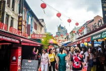 Chinatown District in Singapore