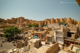 Jaisalmer Fort in Jaisalmer, India