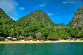 Gota Resort Beachfront in Caramoan, Camarines Sur, Philippines