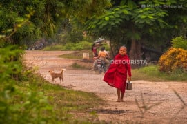 Young Monk in Hsipaw, Greater Mandalay, Myanmar