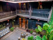 Courtyard inside the Museum of Folklore in Hoi An Ancient Town, Quang Nam Province, Vietnam