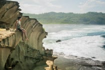 Marcos at Magasang Rock Formations in Biri, Samar, Philippines