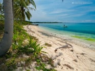 White-sand beach, in Sibato Island, Caluya, Antique, Philippines
