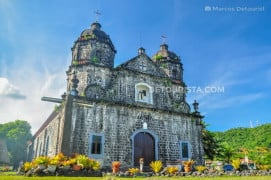 Santo Domingo Church in Santo Domingo, Albay, Philippines