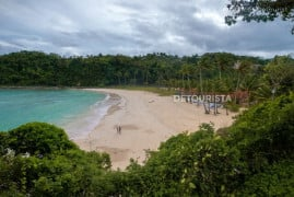 Beachfront at Fairways and Blue Water Resort in Newcoast Boracay, Malay, Aklan, Philippines