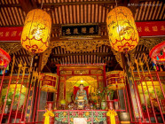 Shrine at Minh Huong Ancestor Worship House in Hoi An Ancient Town, Quang Nam Province, Vietnam