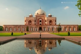Humayun's Tomb in New Delhi, India