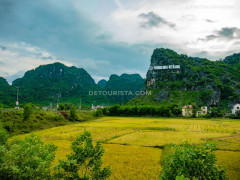 Phong Nha Village Center, in Phong Nha-Ke Bang National Park, Quang Binh, Vietnam, on September 2015