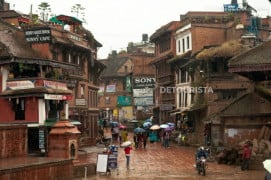 Bhaktapur Old City in Nepal