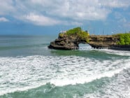 Tanah Lot (temple) in Bali, Indonesia