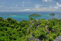 Gigantes Islands from Boulevard Viewpoint