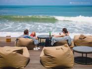 Beach bar at Alila Seminyak