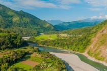 Chico River in Tabuk, Kalinga, Philippines