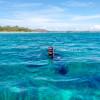 Snorkeling & island hopping near Gili Air, in Gili Islands, Lombok, West Nusa Tenggara, Indonesia
