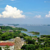 Overlooking Sentosa Island from Tiger Sky Tower, in Singapore