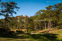 Camp John Hay Golf Course in Baguio City, Benguet, Philippines