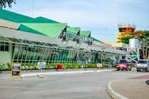 Puerto Princesa Airport in Puerto Princesa, Palawan, Philippines