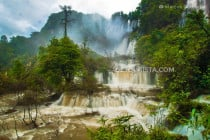 Thee Lor Su Waterfall in Umphang, Tak, Thailand