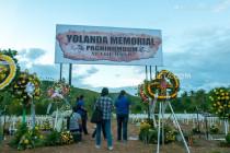 Typhoon Yolanda Mass Grave in Tacloban City, Leyte, Philippines