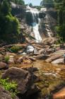 Telaga Tujuh Waterfalls in Langkawi, Malaysia