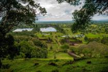 Overlooking view at Vat Phu, Champasak, Laos