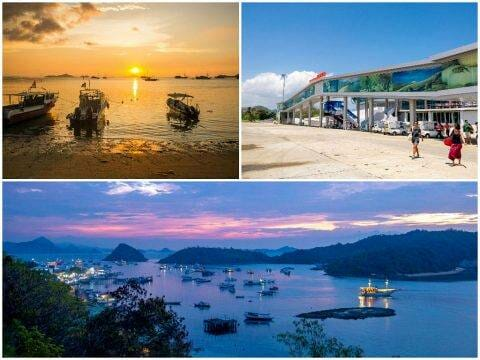 Labuan Bajo — Paradise Bar, Food, Laprima Hotel, Komodo Airport, Flights