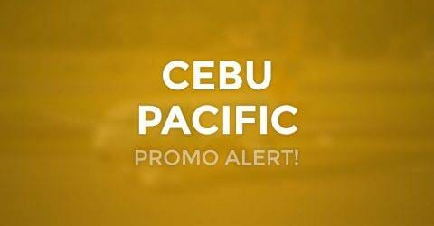 Cebu Pacific PISO FARE Promo on ALL Flights!