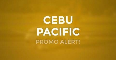 Cebu Pacific Promo for August, September, October 2017 Travel