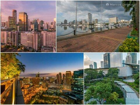 Around Metro Manila (Part 1) – Makati, Manila Bay, Quezon City