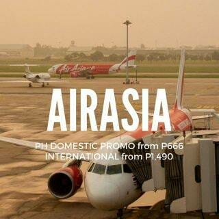 AirAsia Promo for Nov 2017 onwards Travel on PH Domestic & Int'l Flights