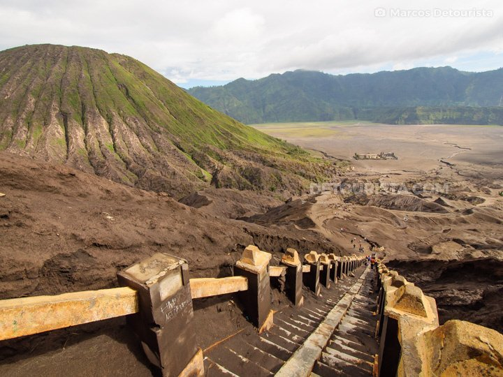 Bromo Volcano Crater, Mount Bromo