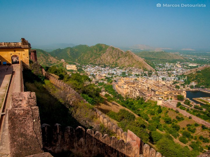 Amber Fortress and Jaigarh Fortress, Jaipur