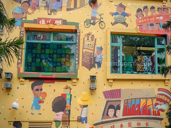 Taipa Village, in Macau, China