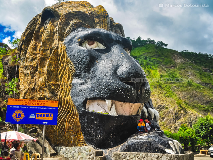Lion's Head in Baguio City, Benguet, Philippines