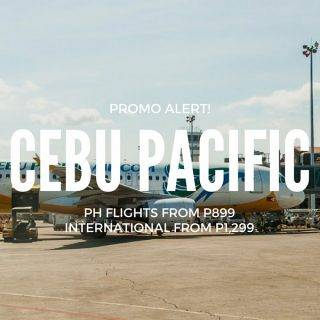 Cebu Pacific P899 ALL-IN Promo for March to December 2018 Travel