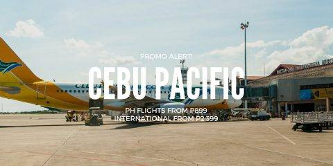 Cebu Pacific PH Domestic & Int'l Promo for July to Sept 2018