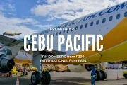Cebu Pacific Promo P399 Promo on Domestic and International Flights
